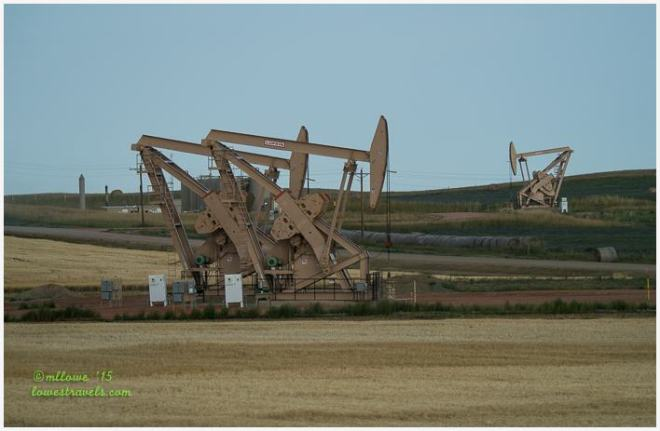 Oil Wells along Highway
