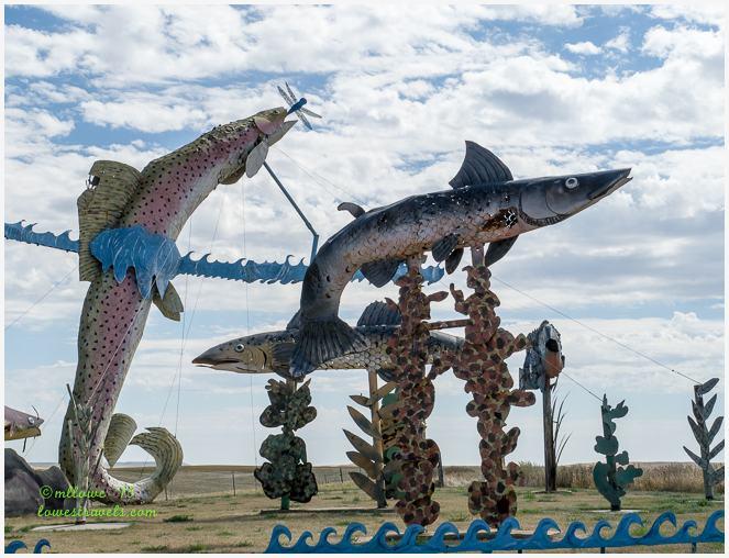 Fisherman's Dream- Enchanted Highway North Dakota