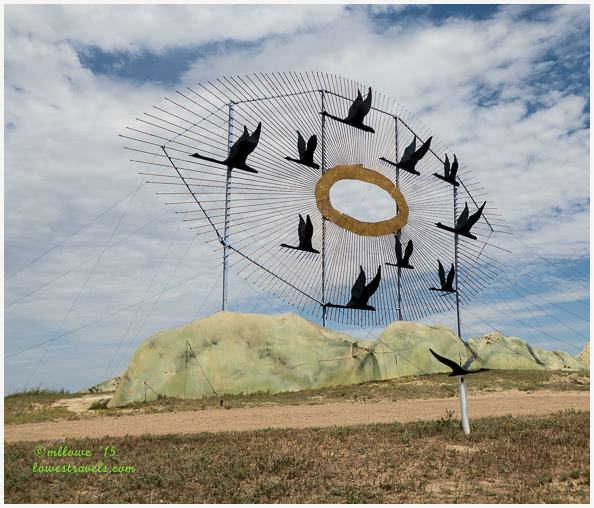 Geese in Flight, Enchanted Highway