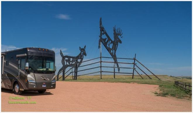 Deer Crossing, Enchanted Highway
