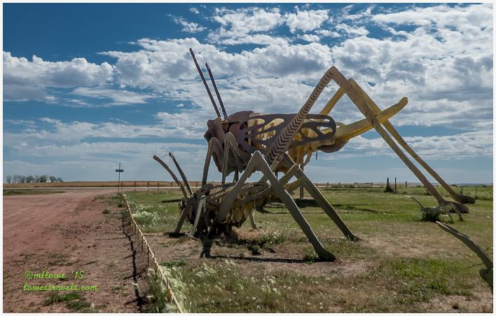 Giant Grasshoppers