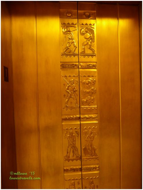 Elevator Door, State Capitol North Dakota