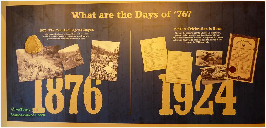 Days of 76 Museum
