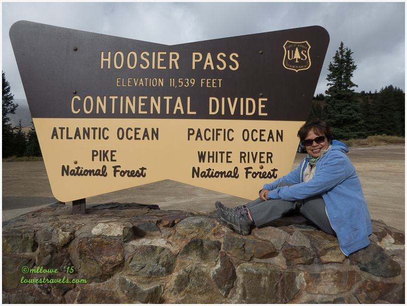 Continental Divide at Hoosier Pass