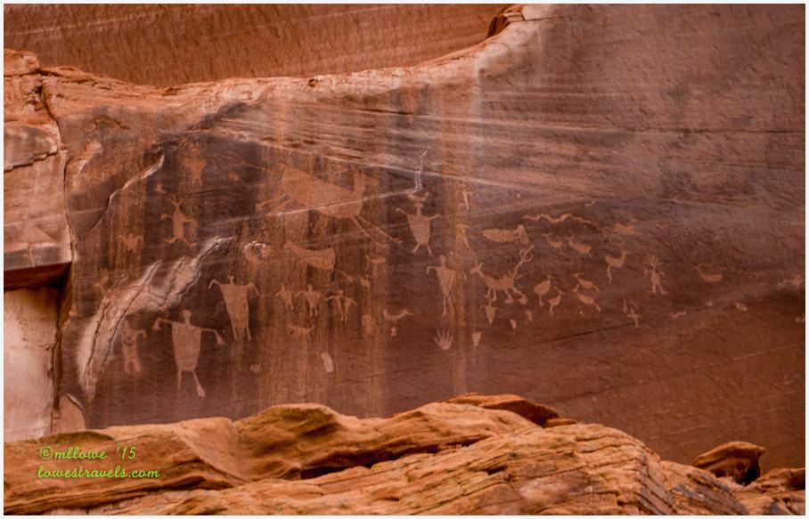 Petroglyphs on Canyon de Chelly