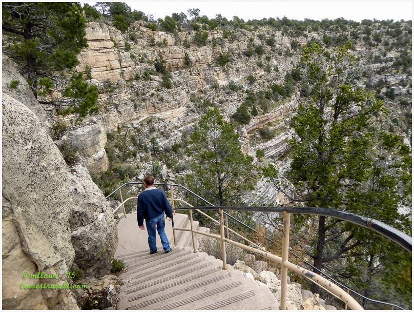 Island Trail, Walnut Canyon National Monument