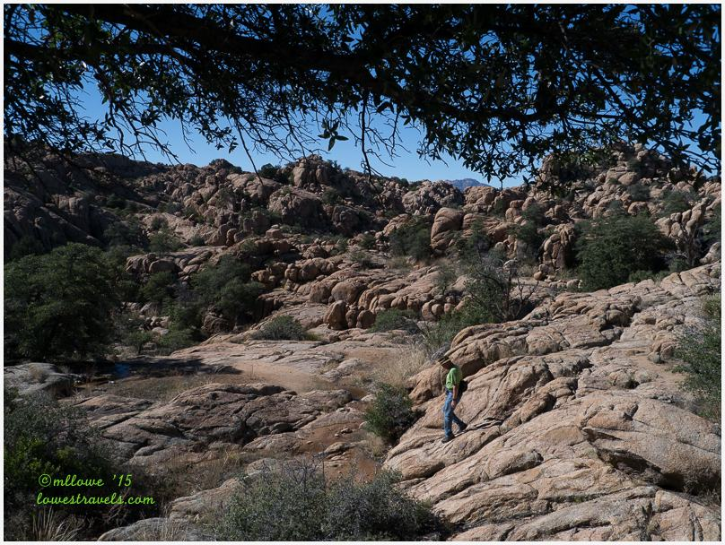 Watson Lake Trail, Granite Dell