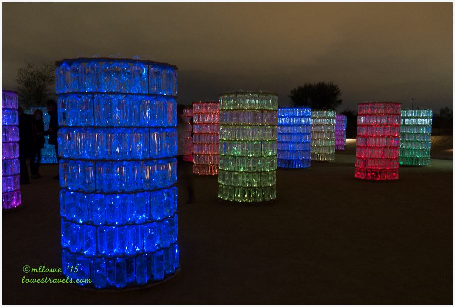 Water Towers Bruce Munro