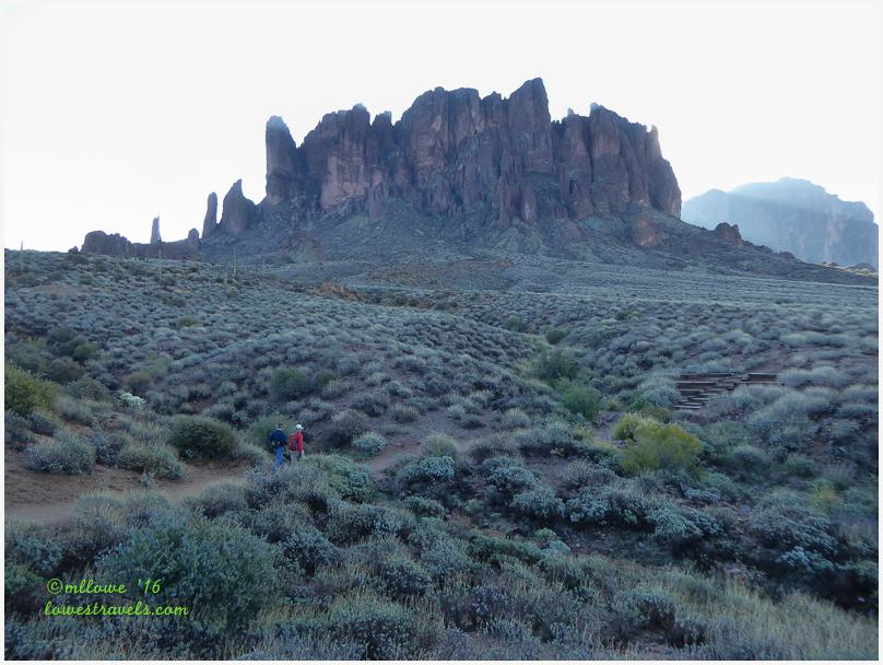 Base of Superstition Mountains