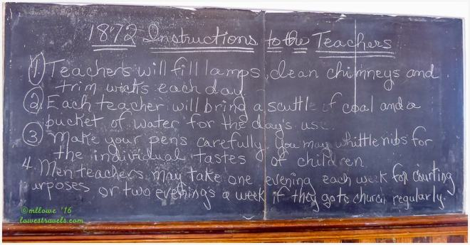 1872 Instructions to the Teachers