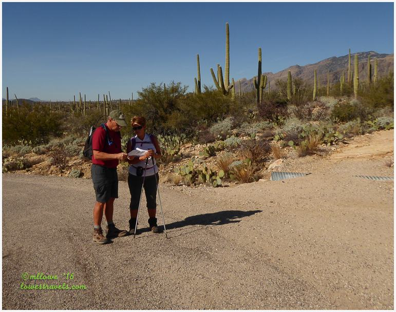 Hiking With John And Pam Tucson Az Lowes Travels