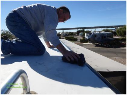 Applying 303 to the roof