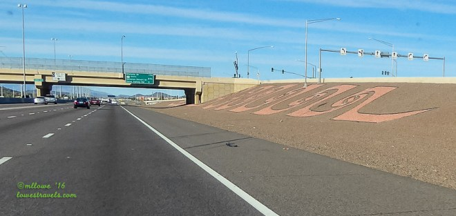 Junction Interstate 17 and Highway 74
