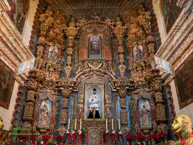 Altar- Mission San Xavier del Bac