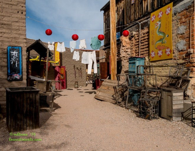 Chinese Alley, Old Tucson