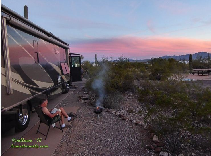 Twin Peaks Campground, Organ Pipe Cactus NM