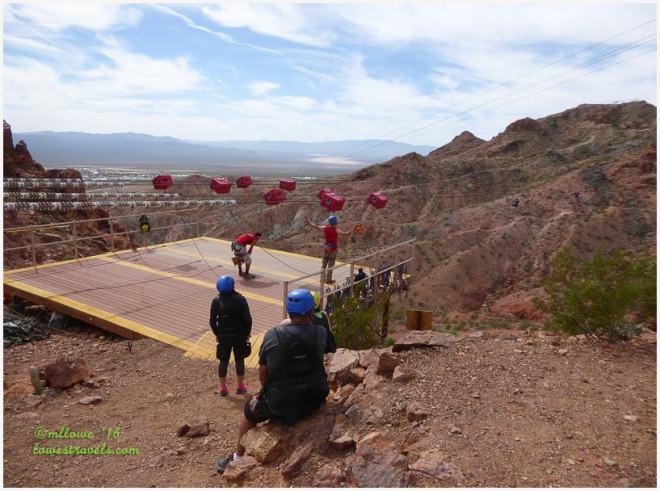 Zip Line Bootleg Canyon