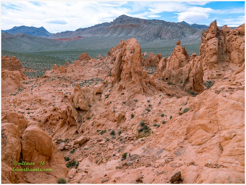Pinnacles Trail, Valley of Fire