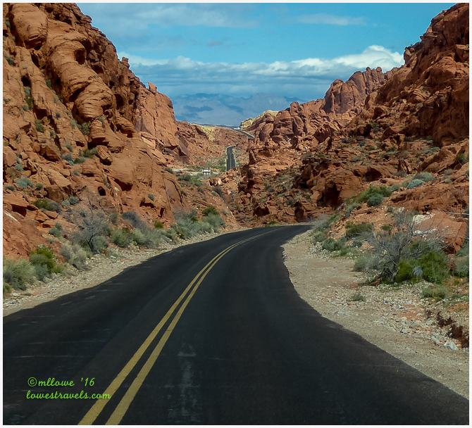 White Dome Road, Valley of Fire SP