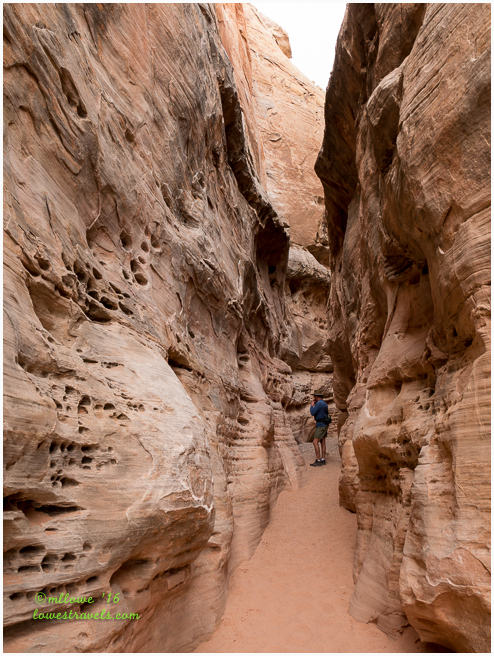 Slot Canyon, White Domes Trail