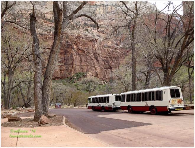 Zion NP Shuttle Bus