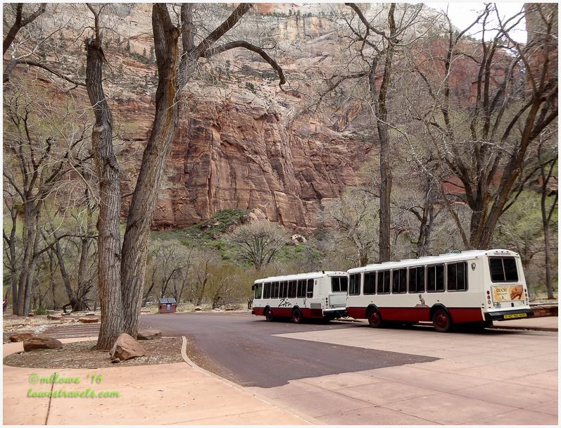 Zion NP Shuttle Bus