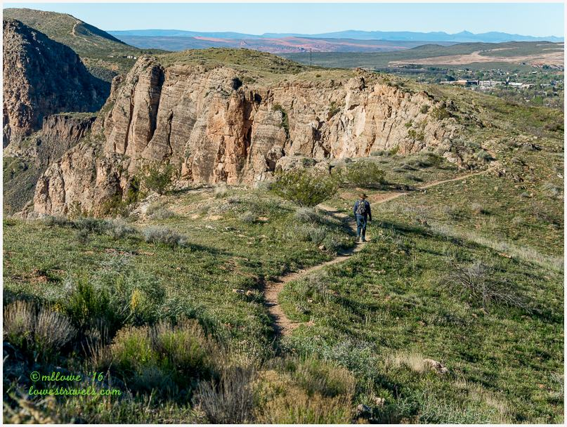 La Verkin Overlook Trail
