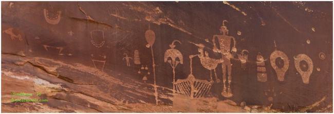 Wolfman Petroglyph