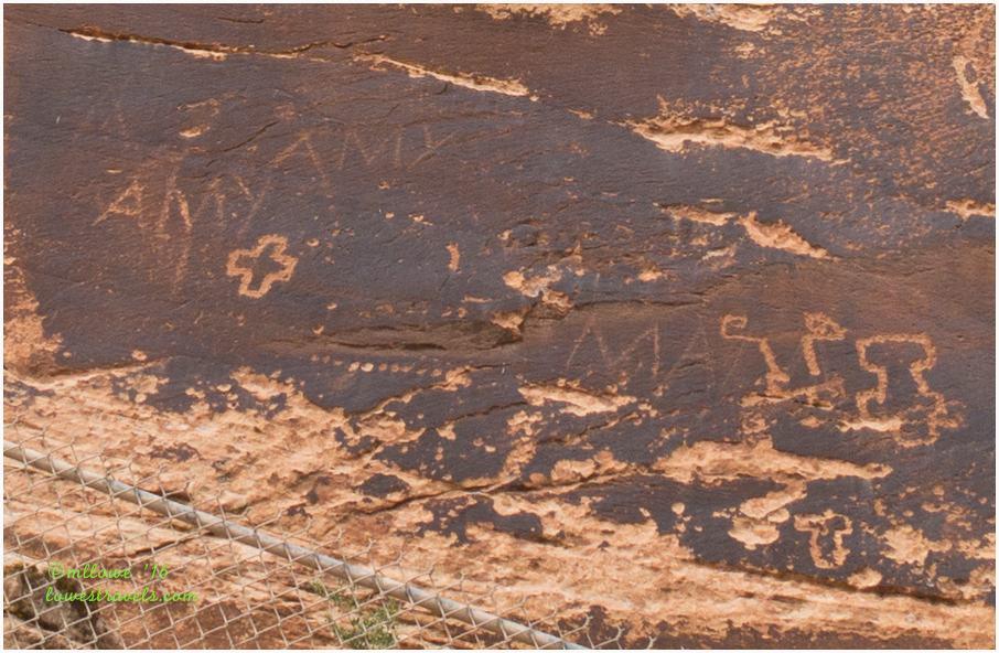 Sand Island Petroglyph Panel