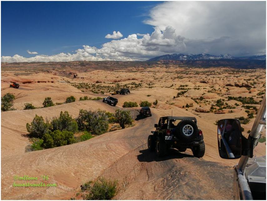 Moab Four Wheeling