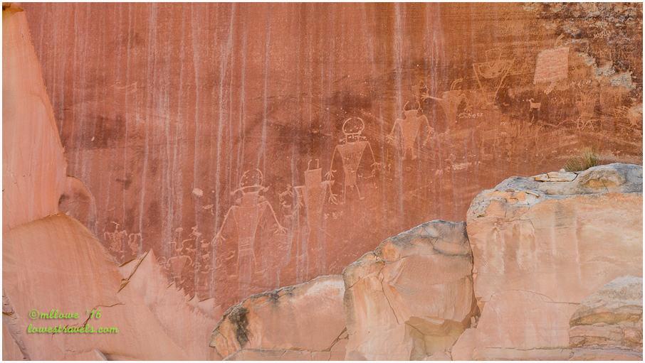 Fremont Culture Petroglyps