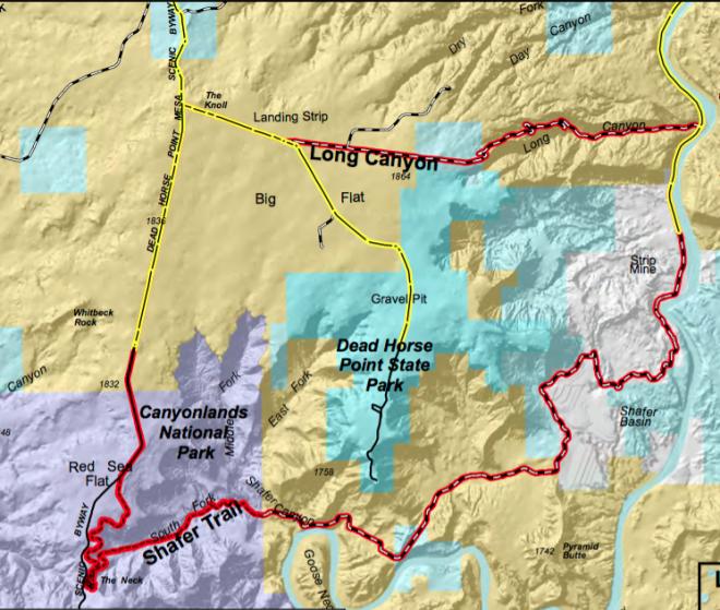 Long Canyon-Shafer Road
