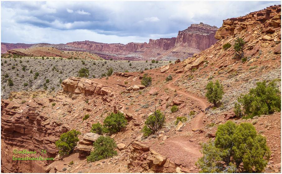 Western Escarpment of Waterfold