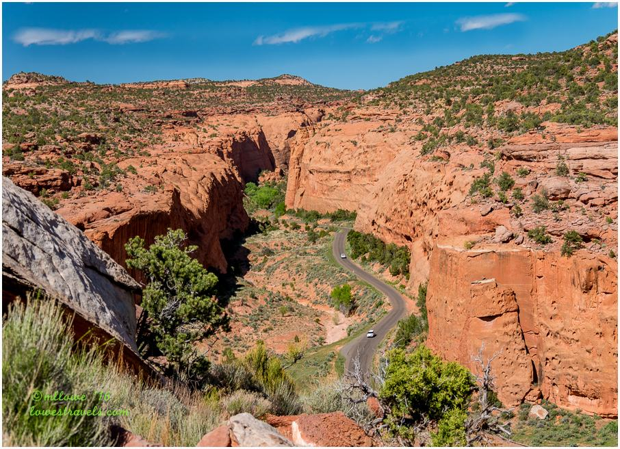 Long Canyon, Burr Trail Road