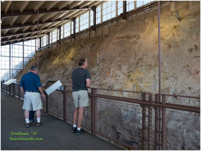 Fossil Quarry Exhibit at Dinosaur National Monument