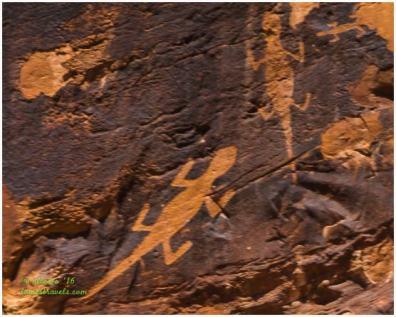 Fremont Indian Petroglyph