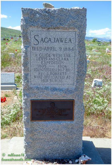 Sacajawea gravesite
