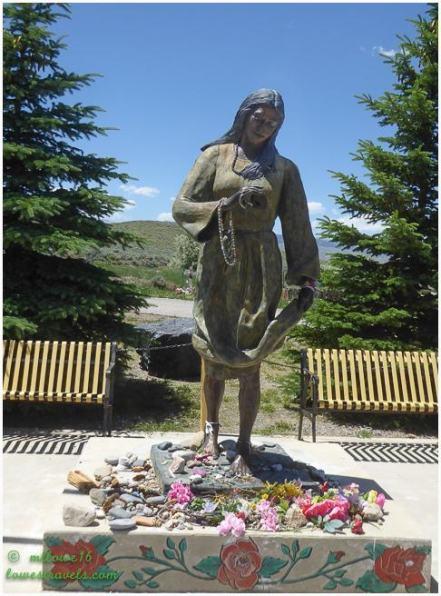 Sacajawea memorial