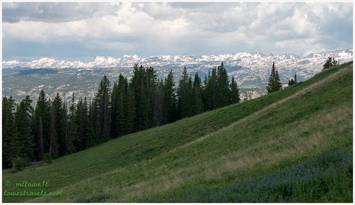 Bear tooth Mountain Range