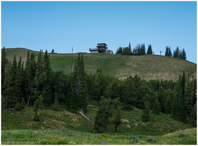 Clay Butte Fire Lookout Tower