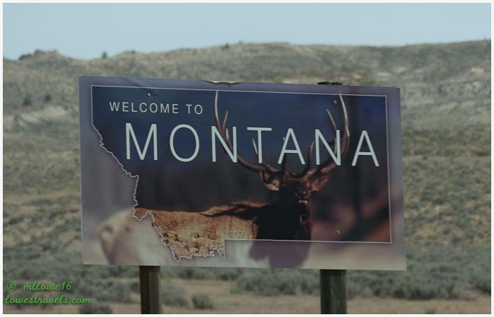 Welcome Sign Montana