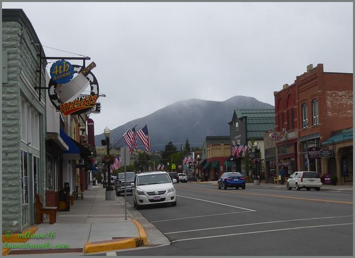 Broadway Street, Red Lodge Montana