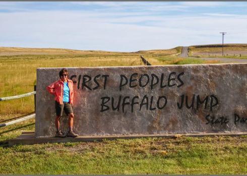 First Buffalo Jump State Park
