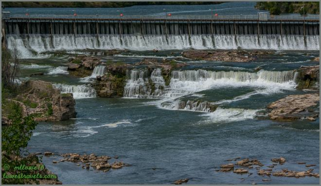 Black Eagles Falls Dam