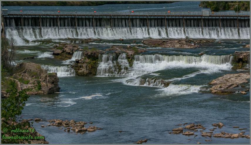Black Eagles Falls Dam