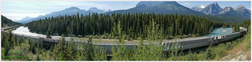 Morons Curve- Bow Valley Parkway