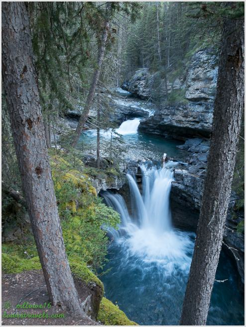 Middle Falls, Johnston Canyon Trail