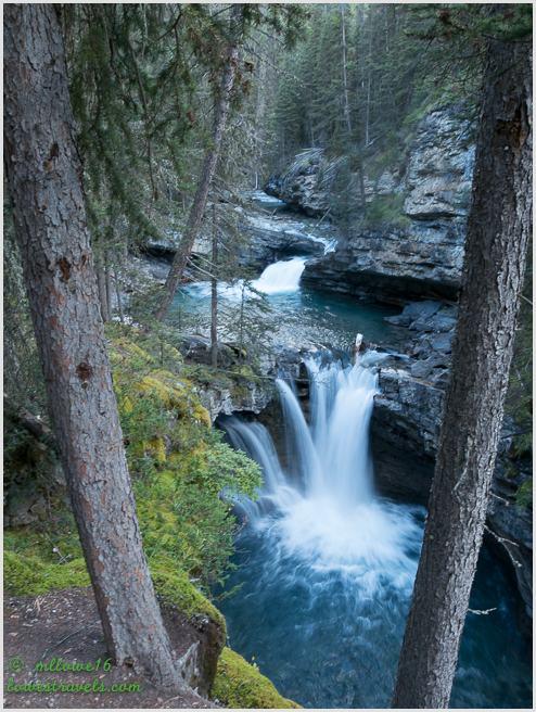 Middle Falls, Johnston Canyon Trail