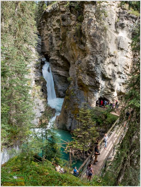 Lower Falls, Johnston Canyon Trail