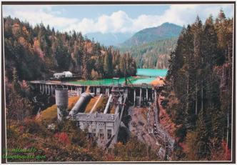 Elwha Dam stood for 100 years